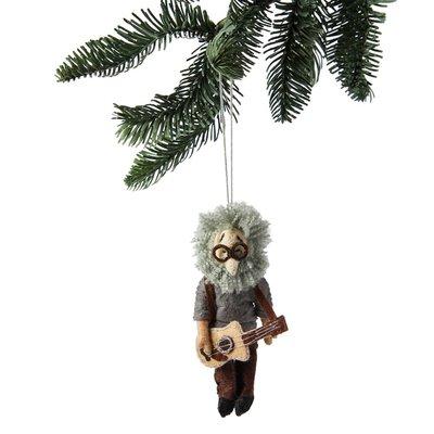 Jerry Garcia Felt Ornament
