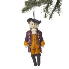 George Washington Felt Ornament