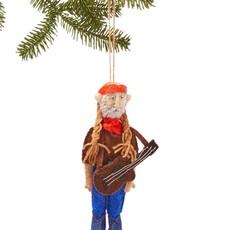 Willie Nelson Felt Ornament