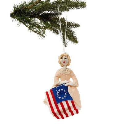 Betsy Ross Felt Ornament