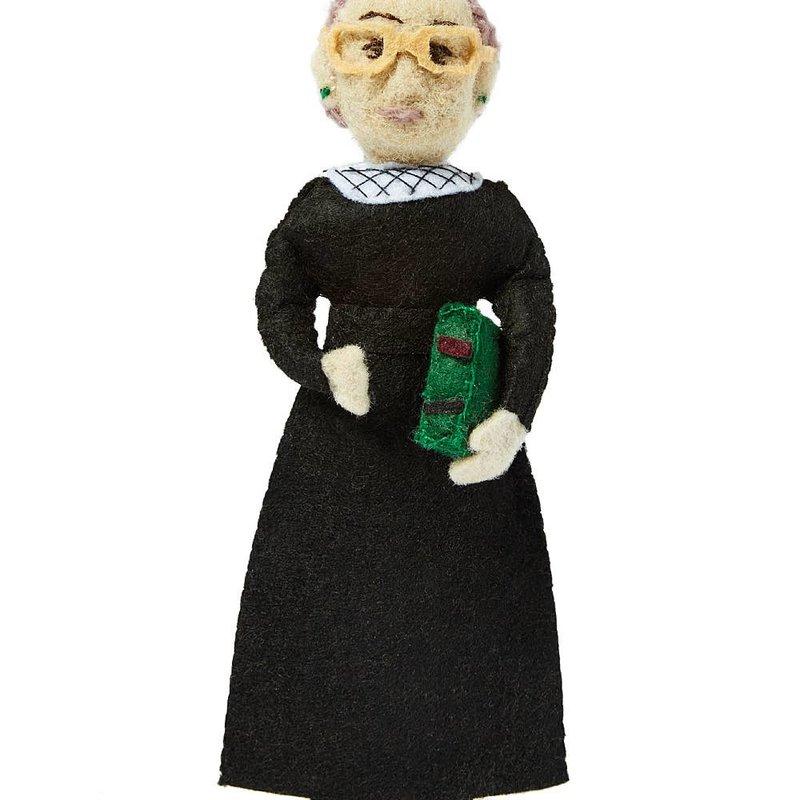 Ruth Bader Ginsberg Felt Ornament