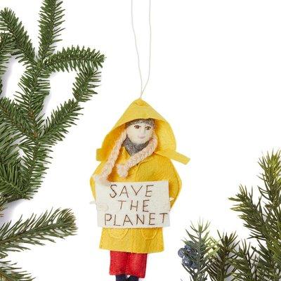 Greta Thunberg Felt Ornament