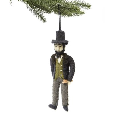 Abe Lincoln Felt Ornament