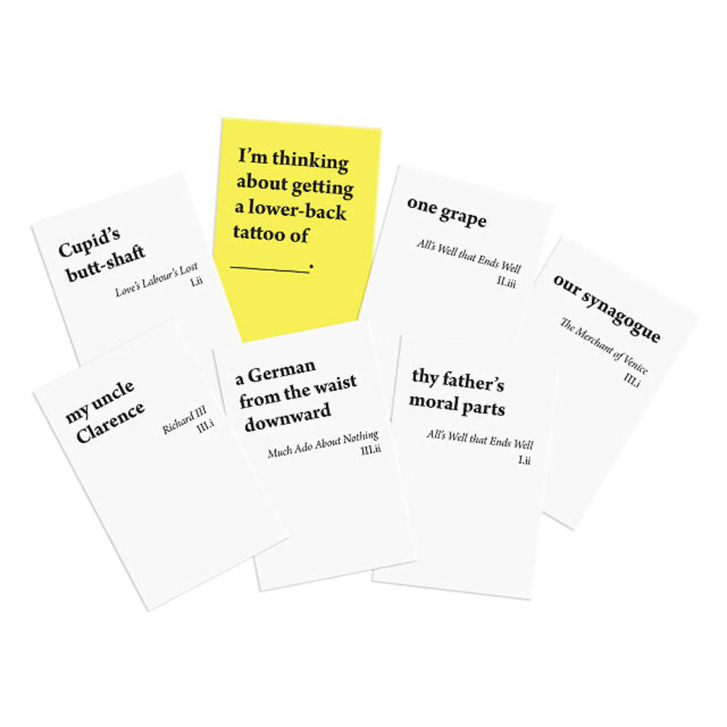 Bard's Dispense Profanity Card Game