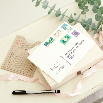 Lettermate Envelope Addressing Guide