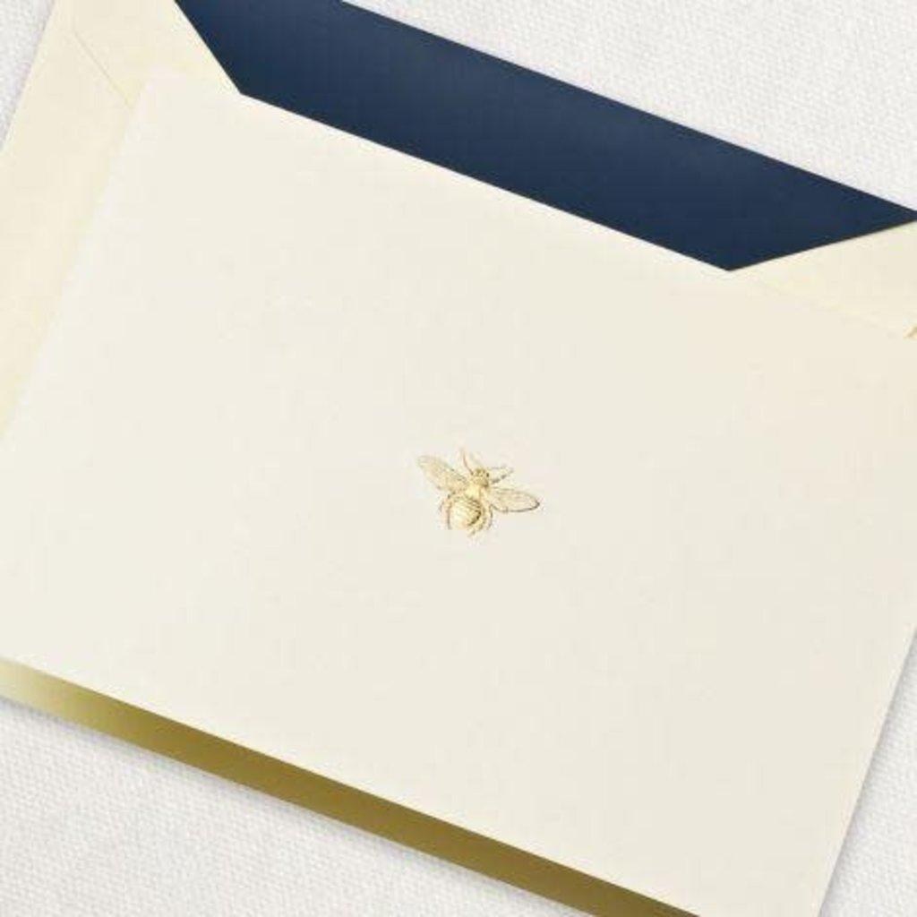 Crane Stationery Engraved Bee Note Crane