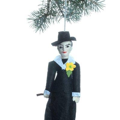 Georgia O'Keeffe Felt Ornament