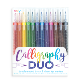 ooly Calligraphy Duo Markers Set/12