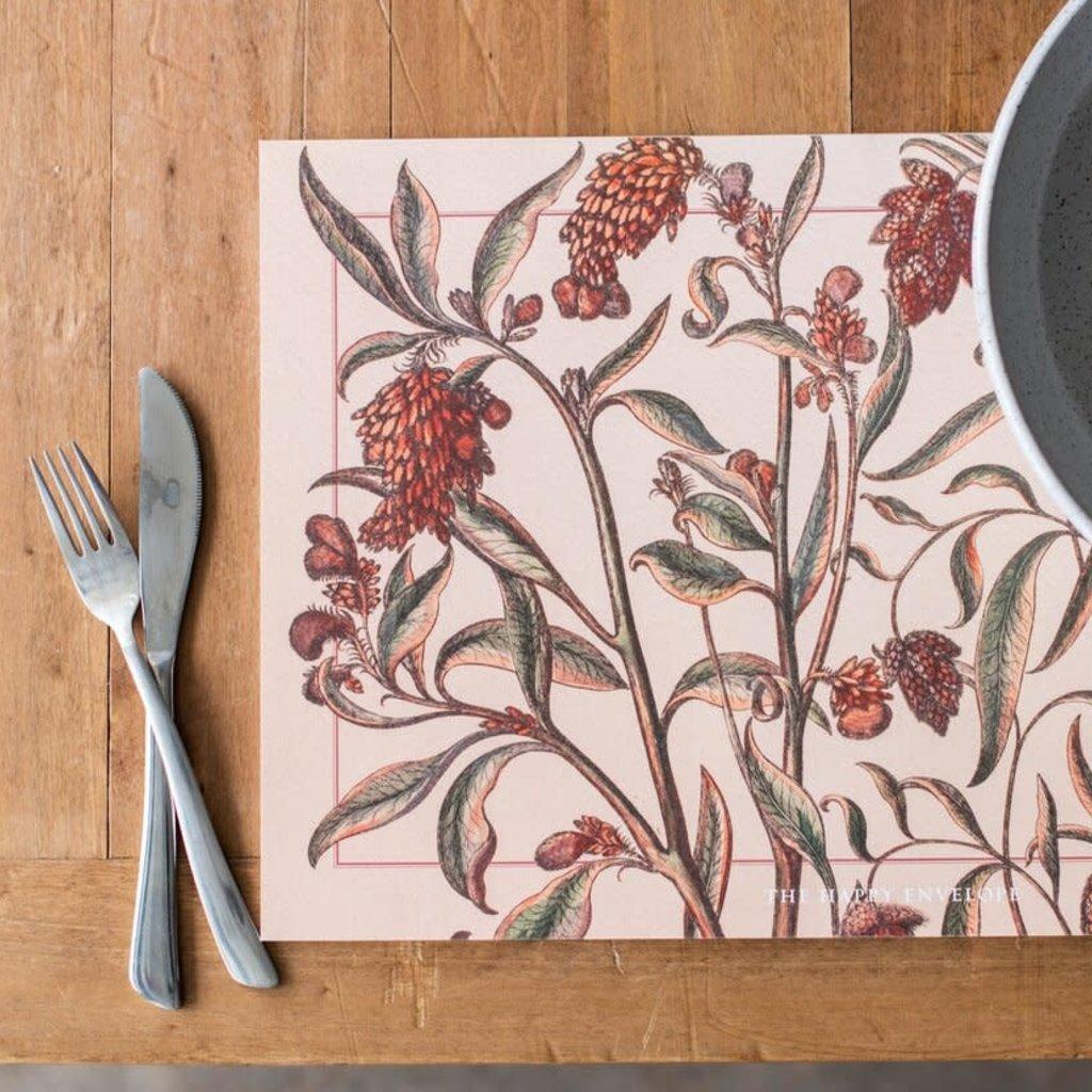 Rustic Garden PlaceMat Pad