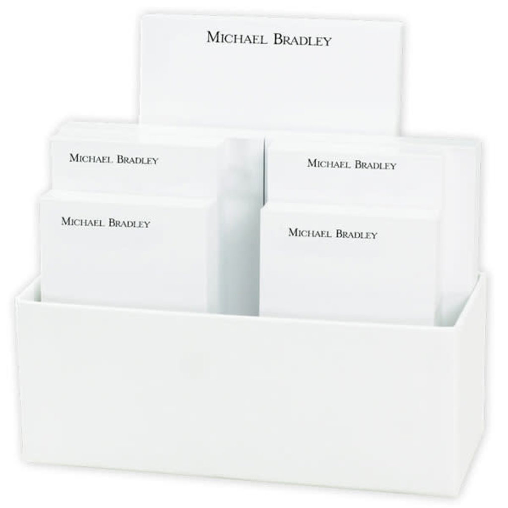 Personalized Notepad Set