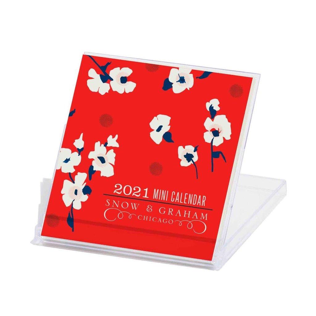 2021 Mini Calendar Snow & Graham