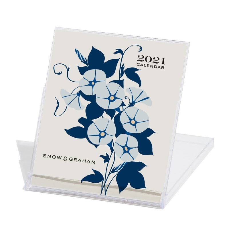 2021 Desk Calendar Snow & Graham