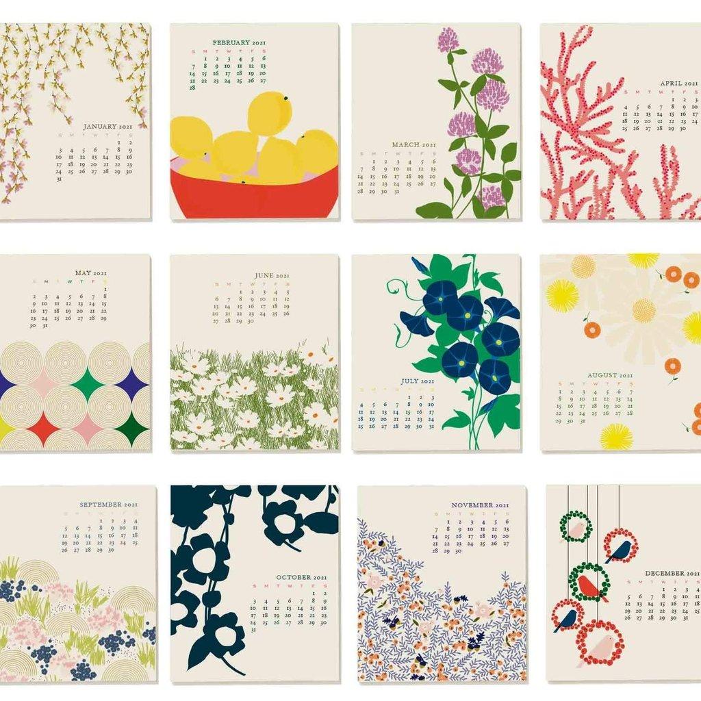 2021 Desk Calendar Snow & Graham