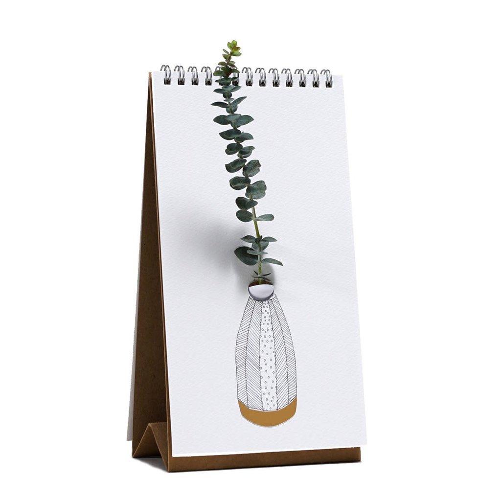 Flip Vase- GOLD VASE