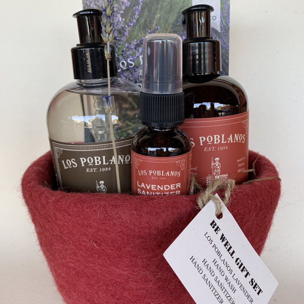 Los Poblanos Los Poblanos Be Well Gift Set