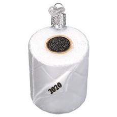 2020 Toilet Paper Christmas Ornament