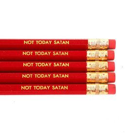 Not Today Satan Pencils