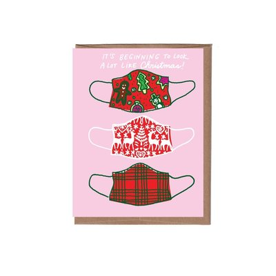 Christmas Masks La Familia Holiday Box of 8 Cards