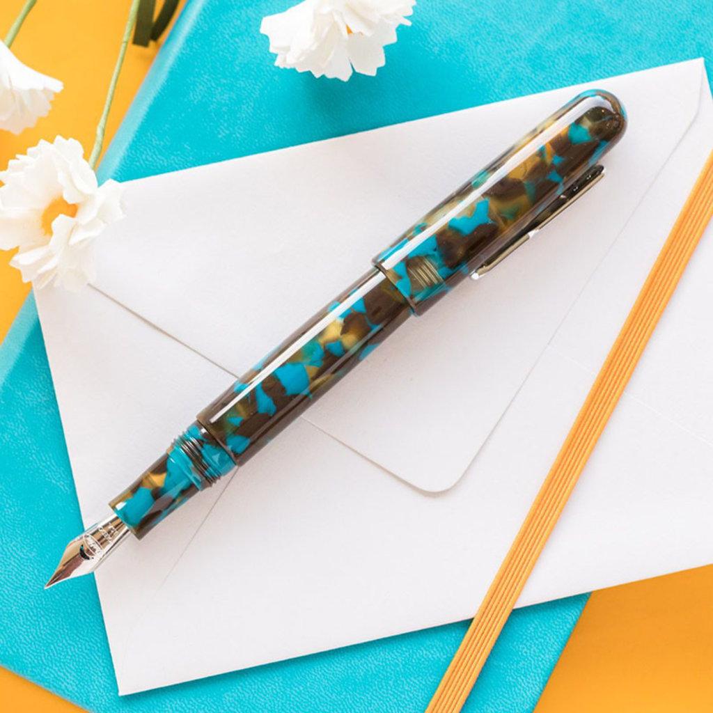 Conklin All American Southwest Turquoise Fountain Pen Conklin