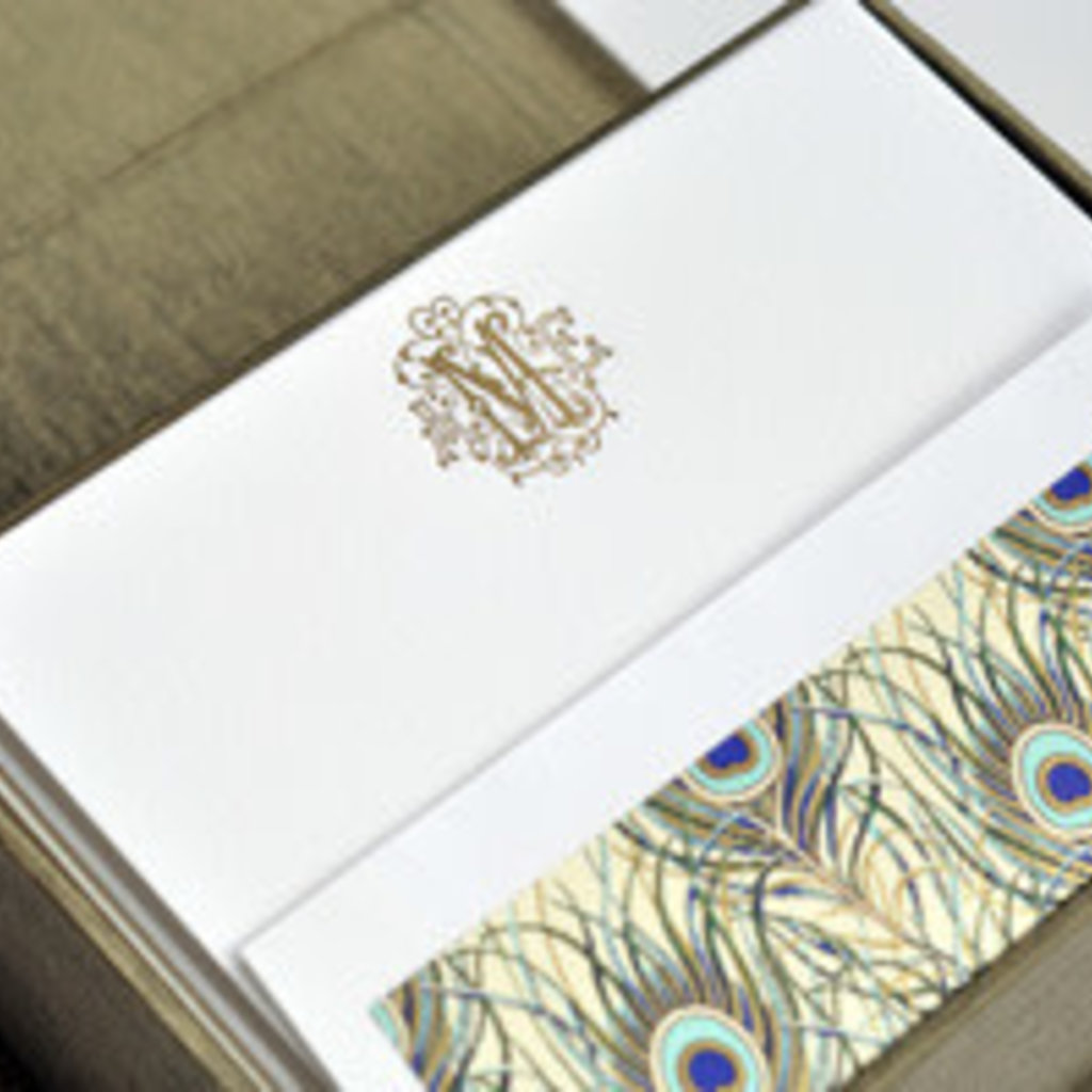 PETITE OLIVE SILK STATIONERY BOX
