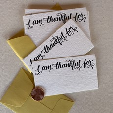 I am Thankful Mini Card Set