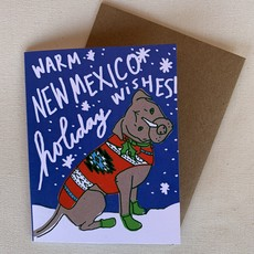 New Mexico Christmas Canine Card