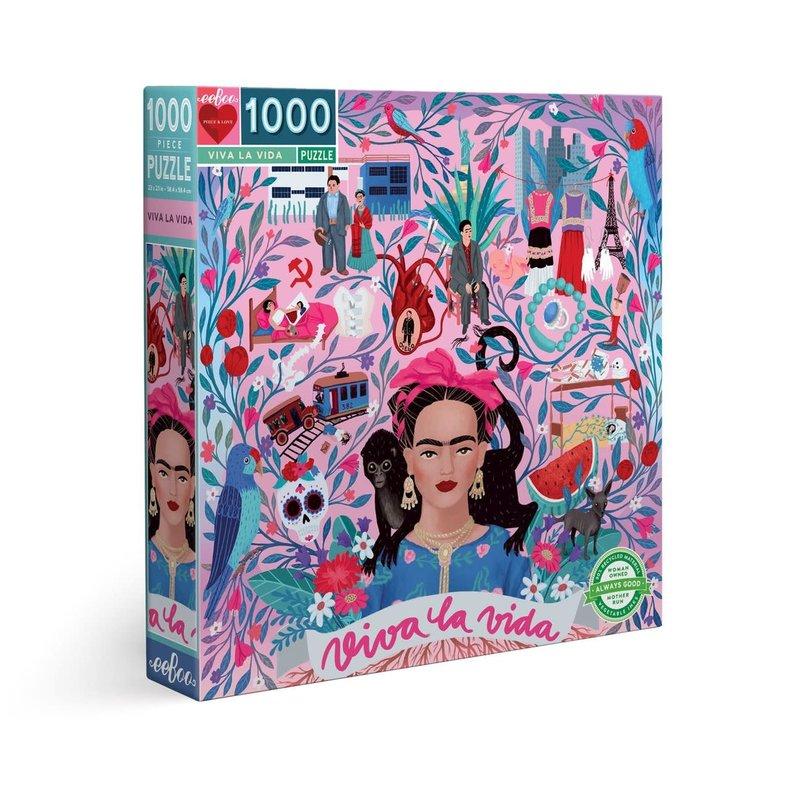 Viva la Vida Frida Puzzle