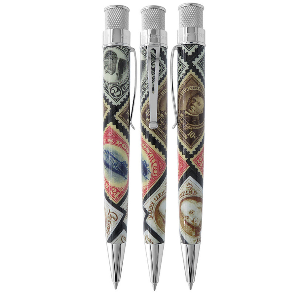 Retro 51 Pen Pal Smithsonian Stamps Rollerball Retro
