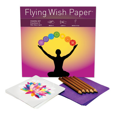 Flying Wish Paper Chakra Large Flying Wish Kit