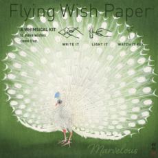 Peacock Flying Wish Paper Kit
