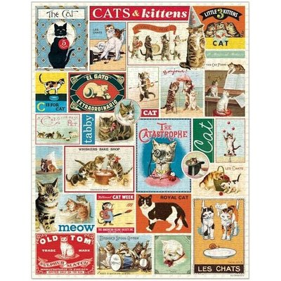 Cats & Kittens Vintage Puzzle