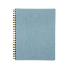 Appointed Blue Linen Notebook