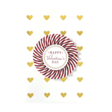 Valentine Card  Pinwheel