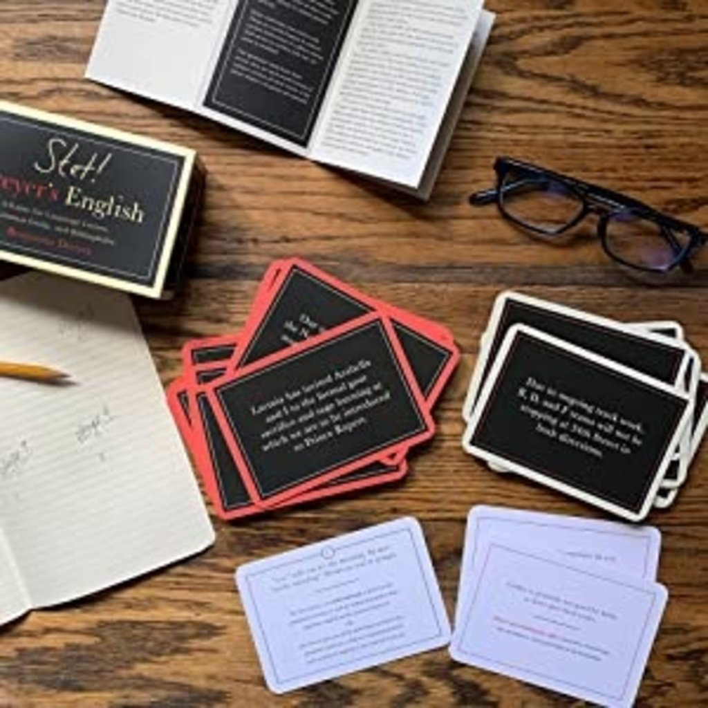 Stet! A Game for Language Lovers, Grammar Geeks, and Bibliophiles
