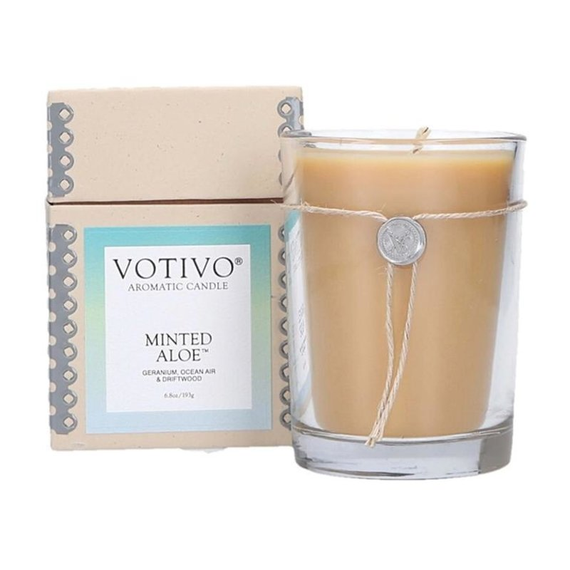 Minted Aloe Votivo Candle