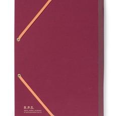 Canvas Cover Folder Burgundy