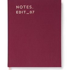 Burgundy Journal Lined