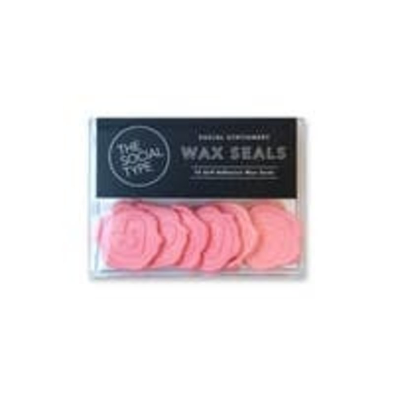 Smiley Heart Wax Seals/ Pack of 10