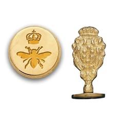 Queen Bee Brass Wax Seal Stamp