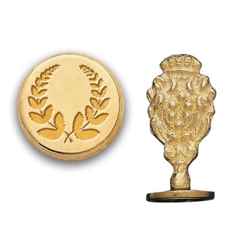 Laurel Wreath Brass Wax Seal Stamp