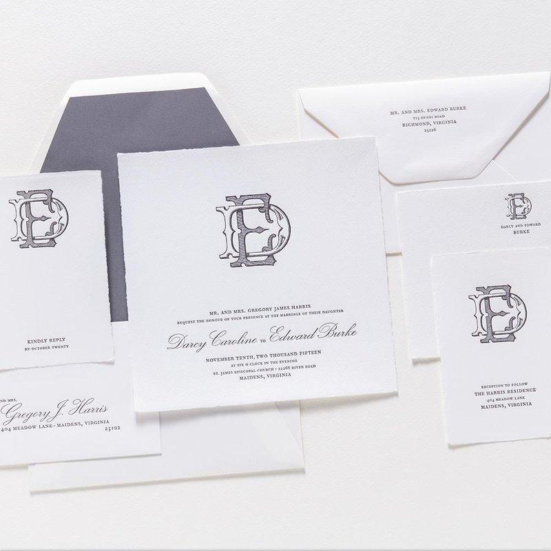 Darcy & Edward Invitation Suite
