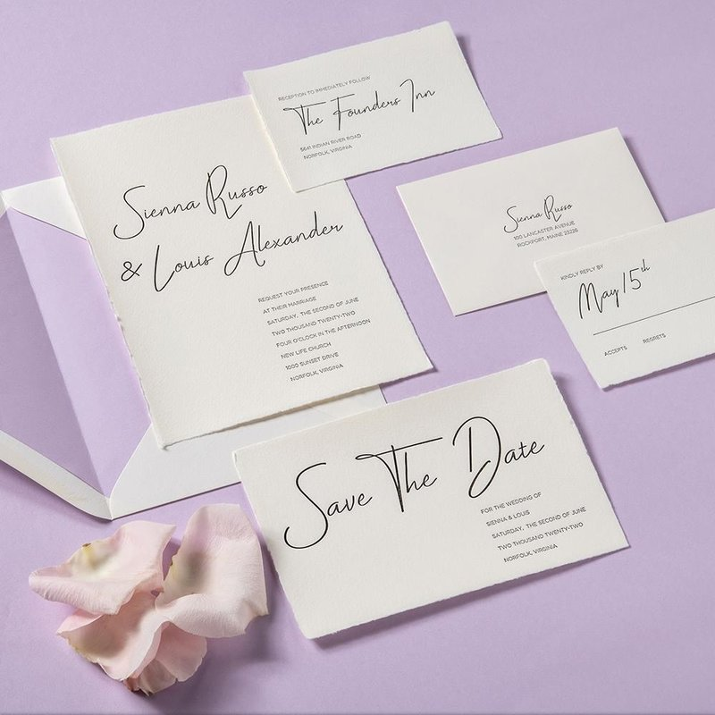 Sierra + Louis Invitation Suite