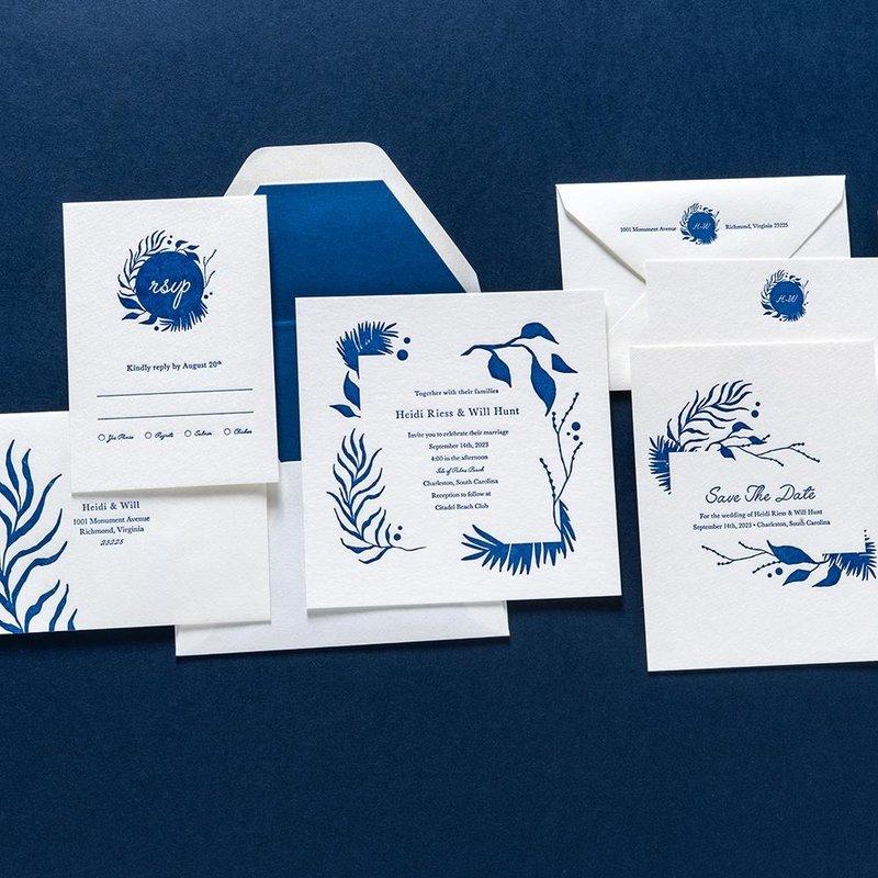 Hedi + Will Custom Invitation Suite