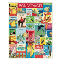 Bon Voyage  Vintage Puzzle