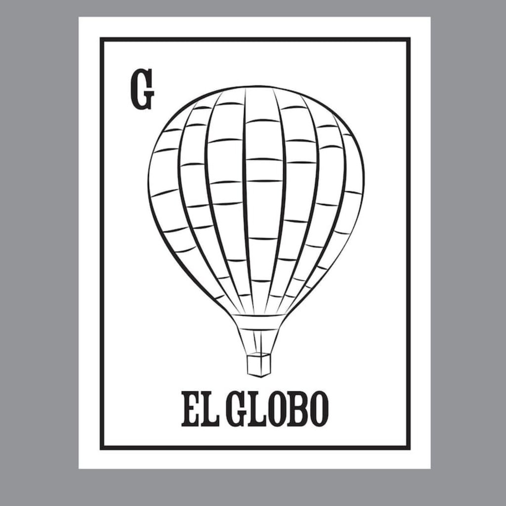 Southwest Loteria Coloring Book