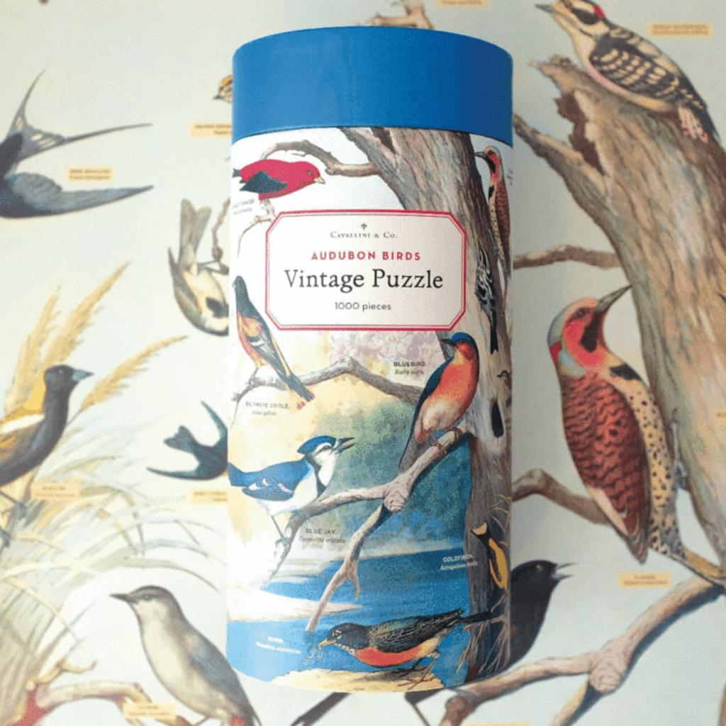Audubon Birds Vintage Puzzle