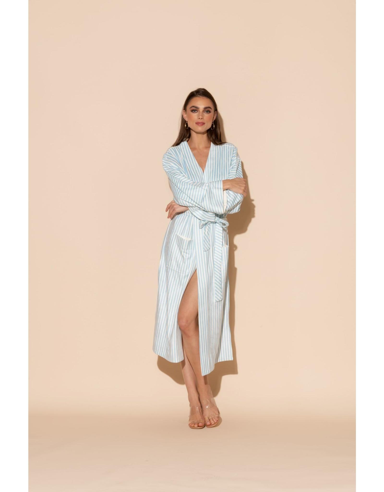 Wrap UP Stripes Kimono 151-BSTR