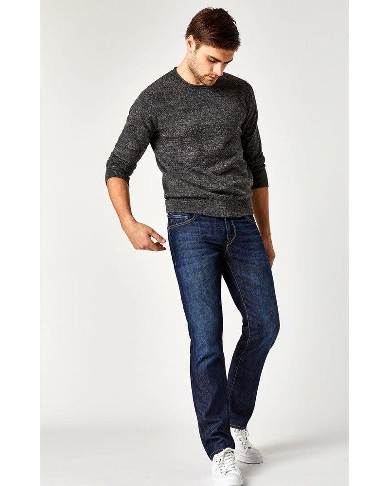 Mavi Jeans Zach Straight Leg Dark Maui