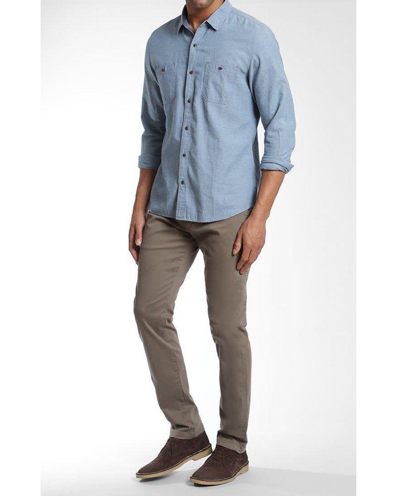 Mavi Jeans Johnny Slim Leg Dark Green Twill