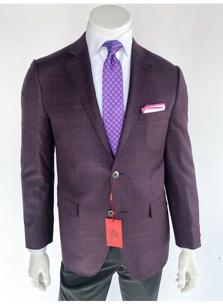 Byron Mauve Plaid Sport Coat